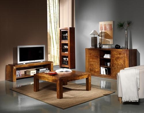 mueble tv coleccion palisandro salon