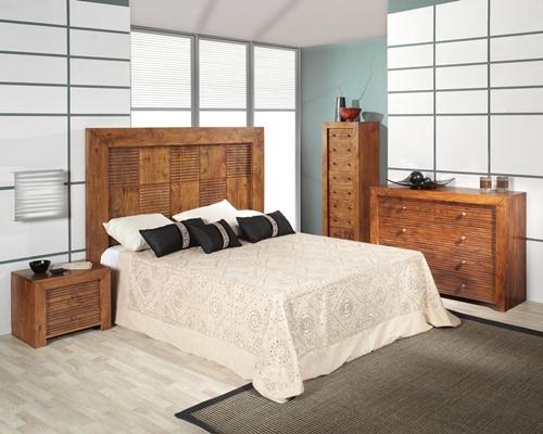 Cabecero coleccion palisandro dormitorio for Palisandro muebles