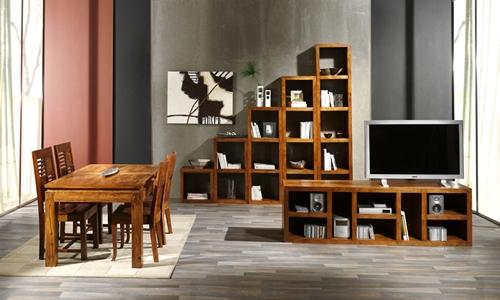 Estanteria coleccion palisandro salon for Palisandro muebles